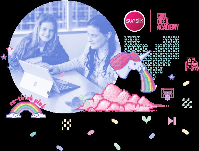 female coding club girl geek academy sunsilk workshops